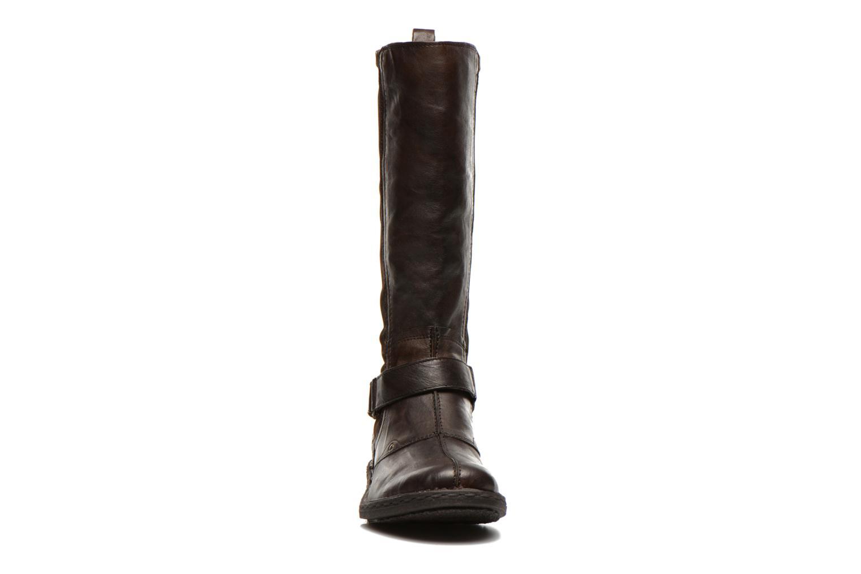 Bottes Khrio Reandria Marron vue portées chaussures