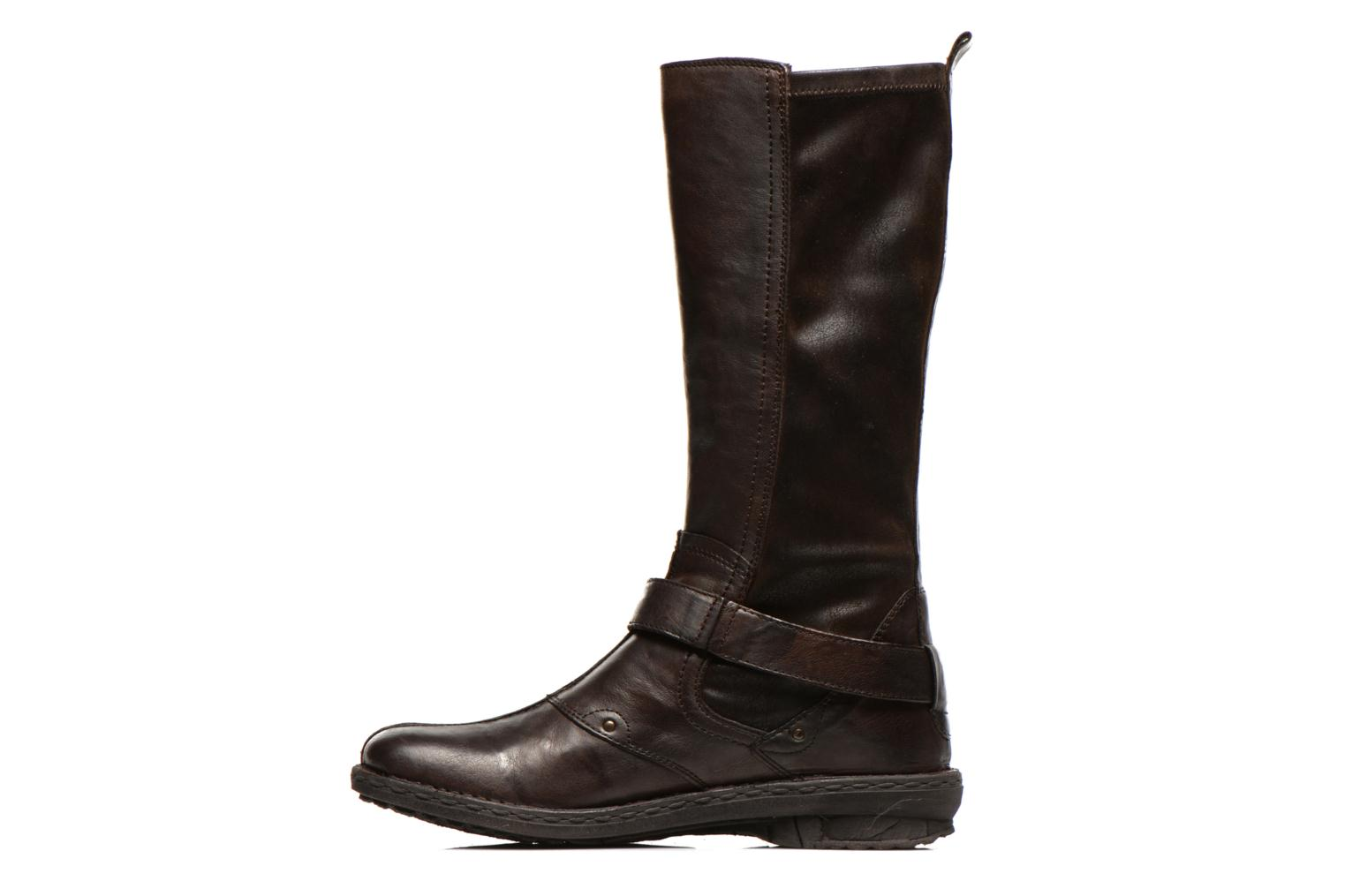 Boots & wellies Khrio Reandria Brown front view