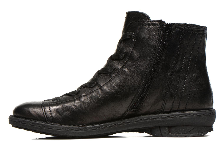 Snörade skor Khrio Recasteli Svart bild från framsidan