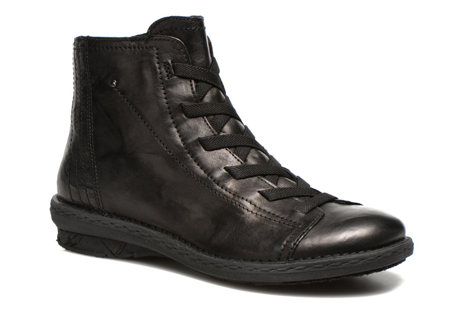 Lace-up shoes Khrio Recasteli Black detailed view/ Pair view