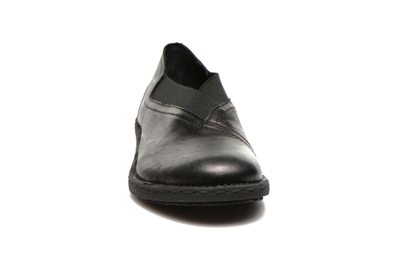Mocassins Khrio Noura Noir vue portées chaussures