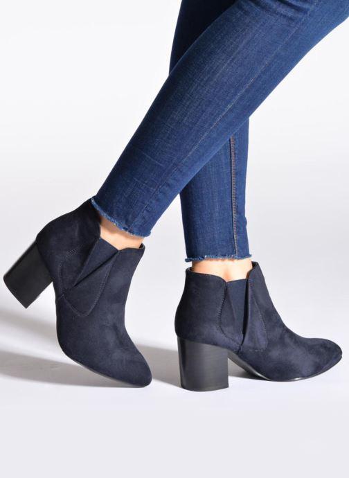 Bottines et boots Eclipse Bottine Cally Noir vue bas / vue portée sac