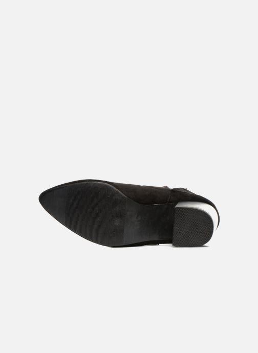 Bottines et boots Eclipse Bottine Cally Noir vue haut