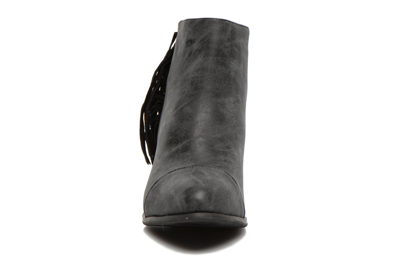 Bottines et boots Eclipse Bottine Janice Gris vue portées chaussures