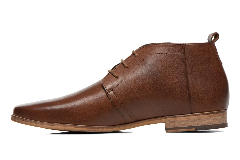 Chaussures à lacets Kost Zepee27 Marron vue face