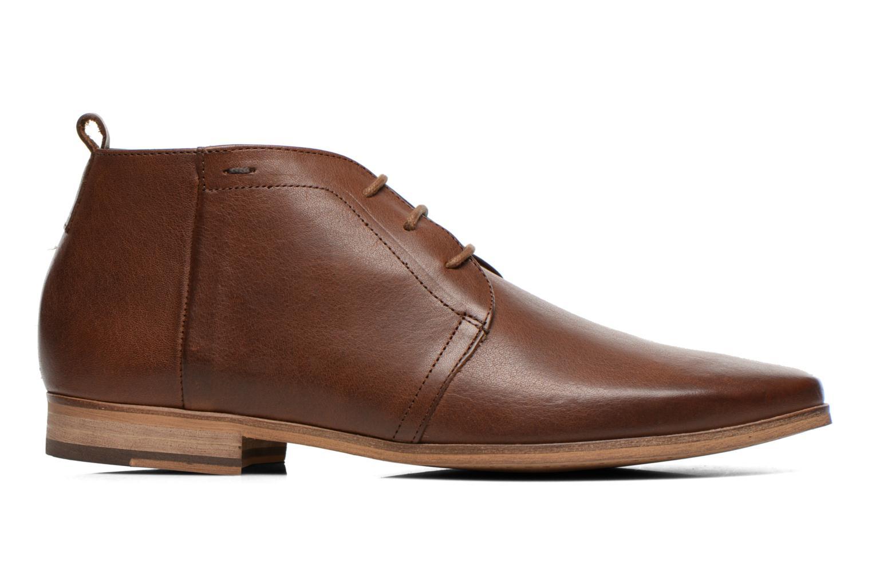 Chaussures à lacets Kost Zepee27 Marron vue derrière