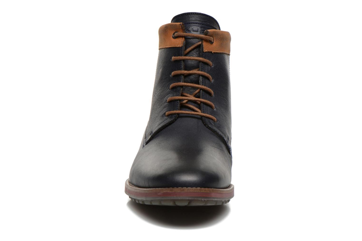 Ankle boots Kost Rotaller27 Blue model view