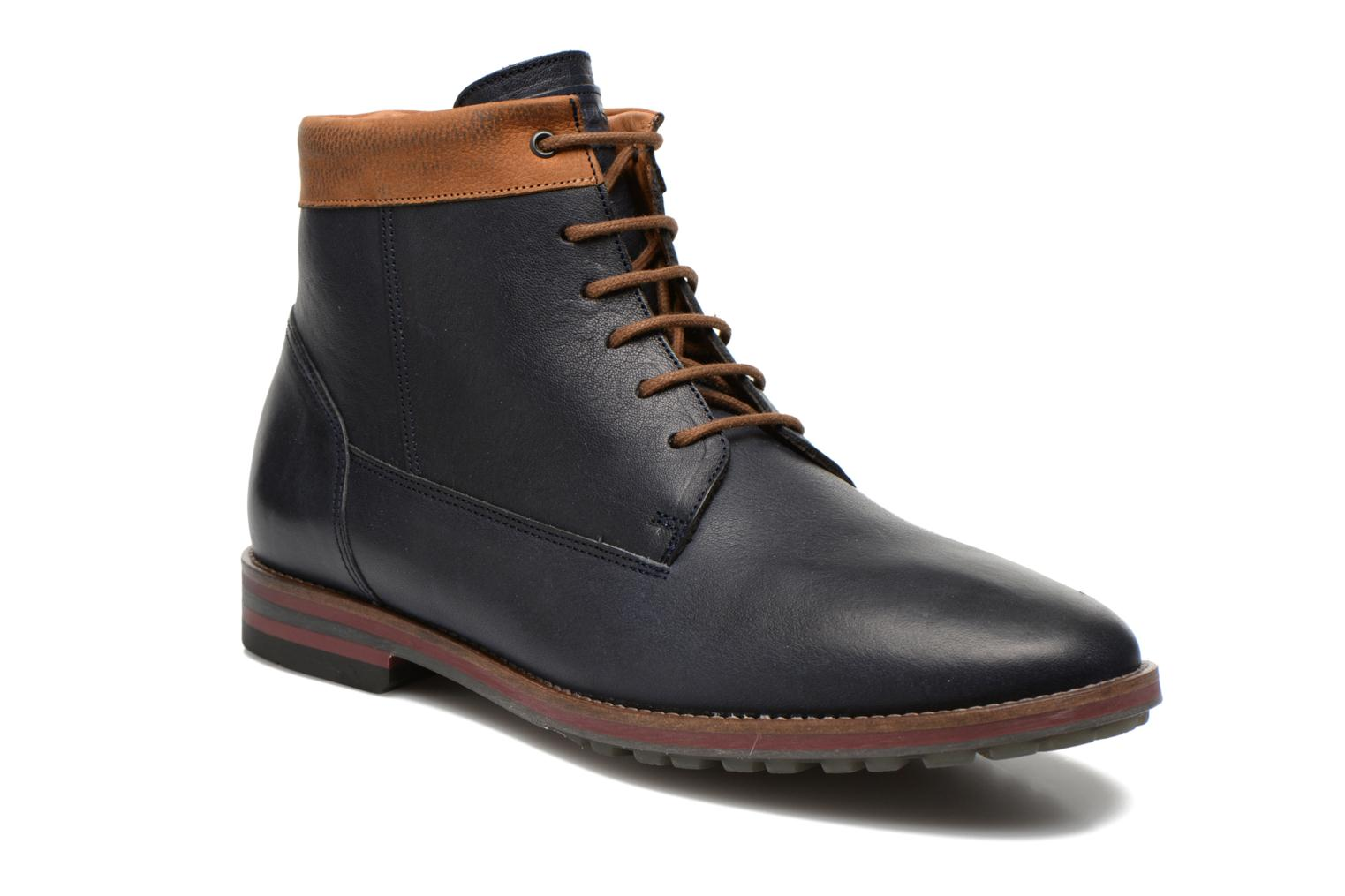 Ankle boots Kost Rotaller27 Blue detailed view/ Pair view