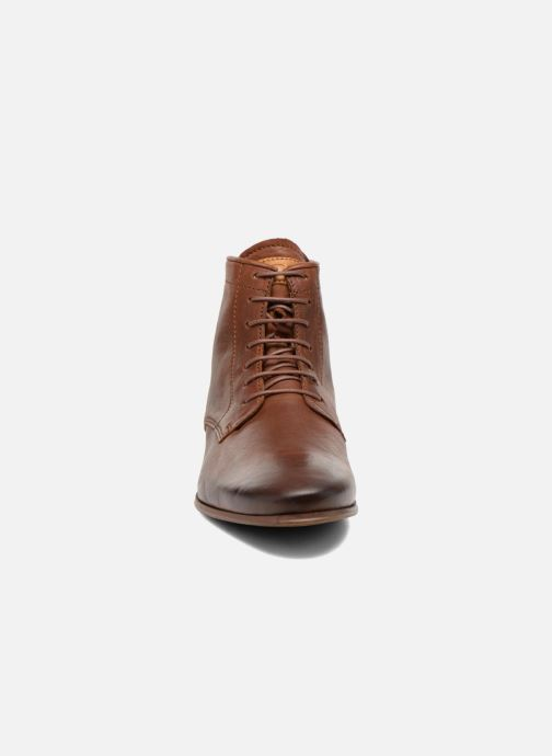 Bottines et boots Kost Guillemet Marron vue portées chaussures