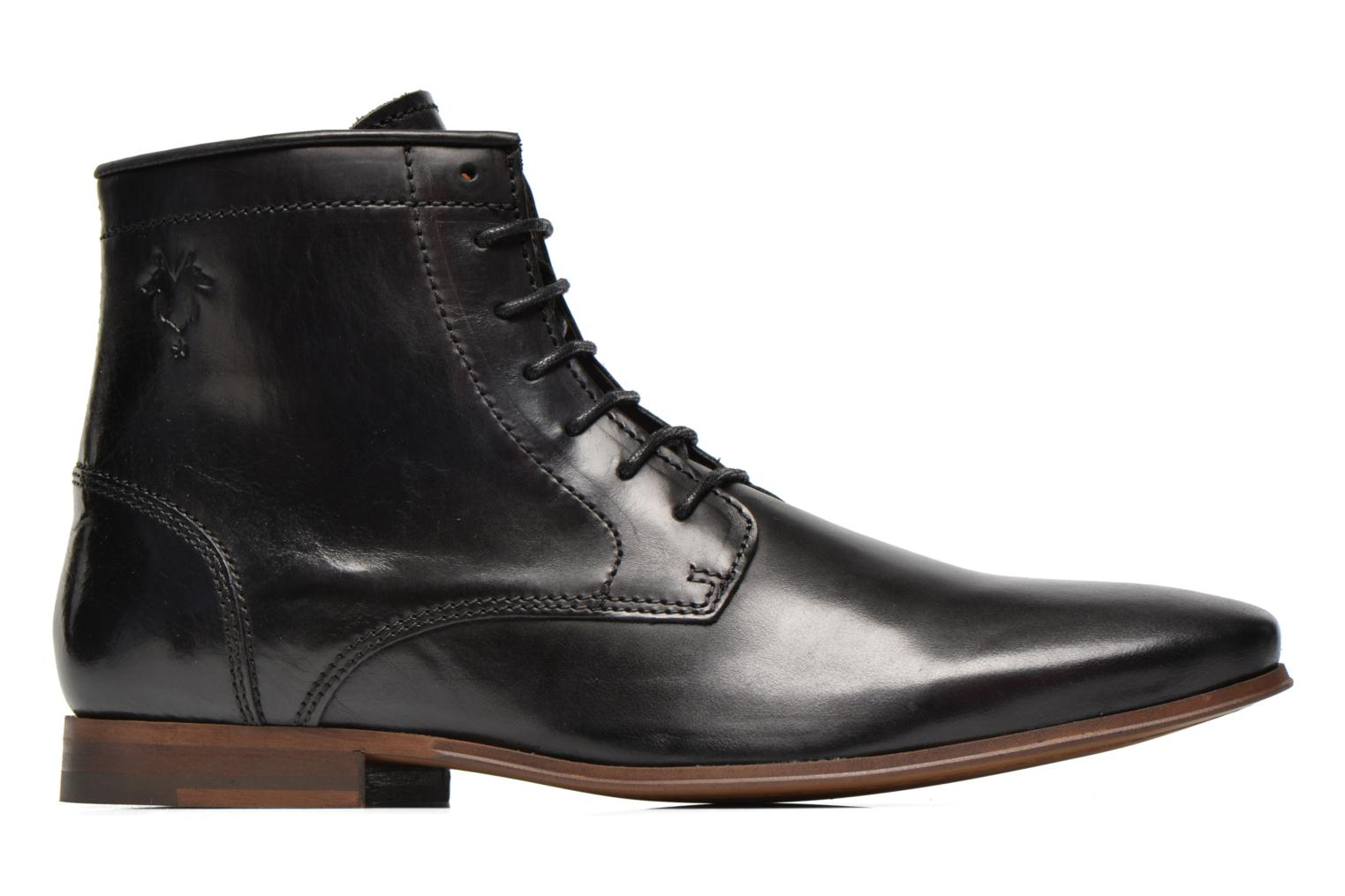 Ankle boots Kost Guillemet Black back view