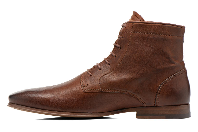 Bottines et boots Kost Guillemet Marron vue face