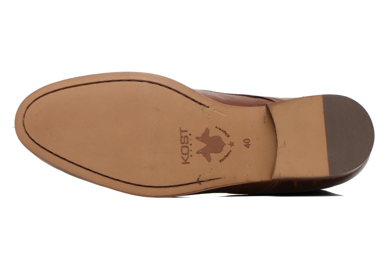 Bottines et boots Kost Guillemet Marron vue haut