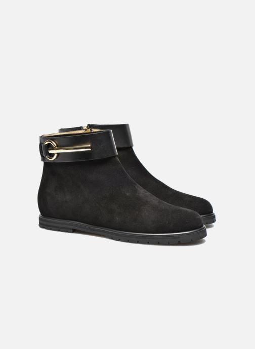 Boots en enkellaarsjes Vicini Bottines armature Zwart 3/4'