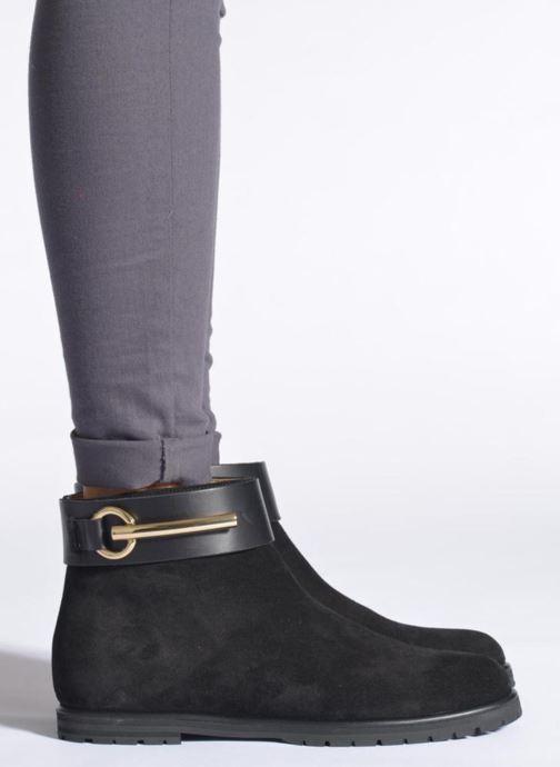 Boots en enkellaarsjes Vicini Bottines armature Zwart onder