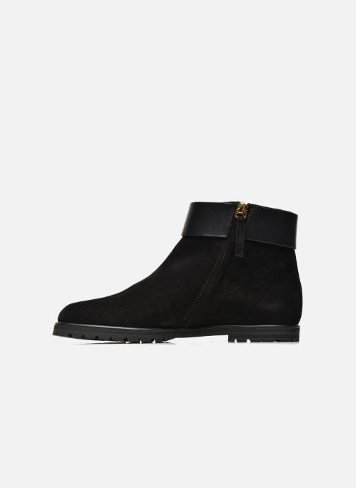 Boots en enkellaarsjes Vicini Bottines armature Zwart voorkant