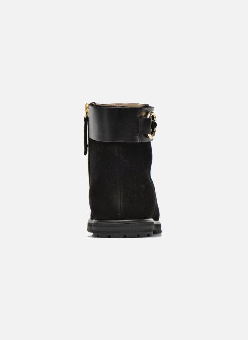 Boots en enkellaarsjes Vicini Bottines armature Zwart rechts