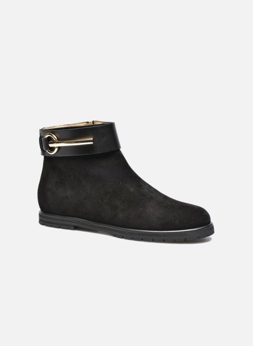 Boots en enkellaarsjes Vicini Bottines armature Zwart detail