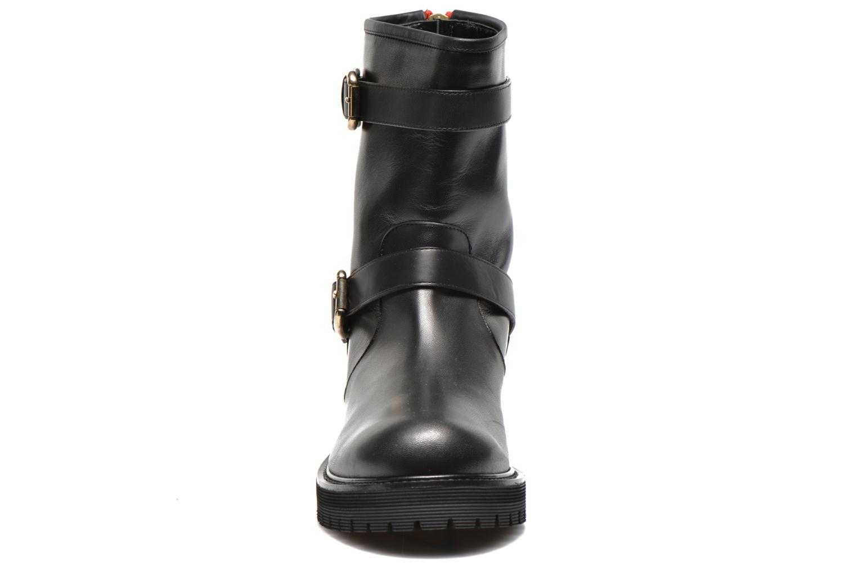 Bottines et boots Vicini Bottines biker Noir vue portées chaussures
