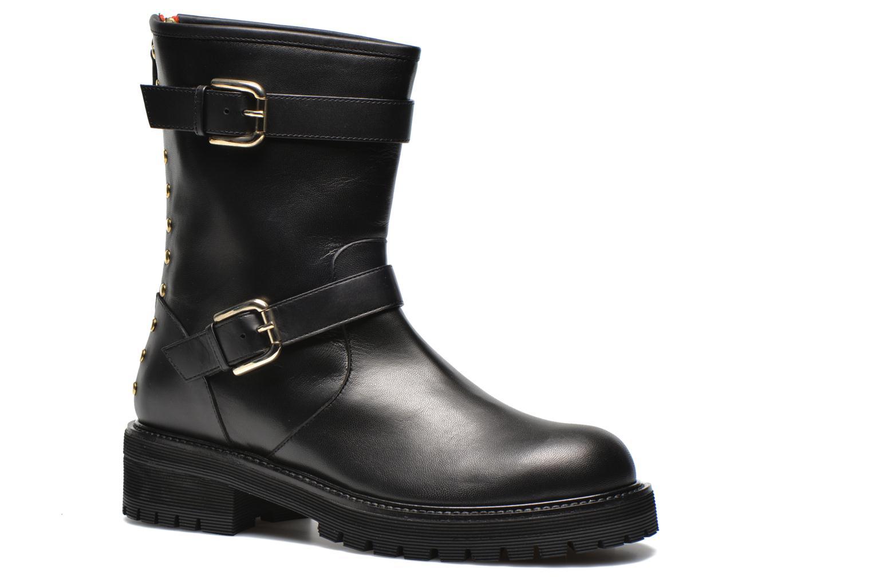 Bottines et boots Vicini Bottines biker Noir vue détail/paire