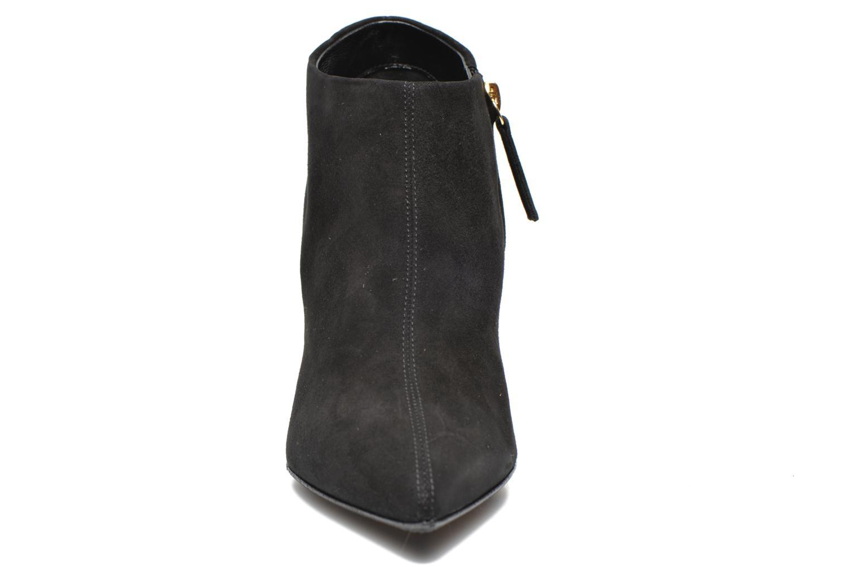 Boots Vicini Bottines talon bijoux Svart bild av skorna på