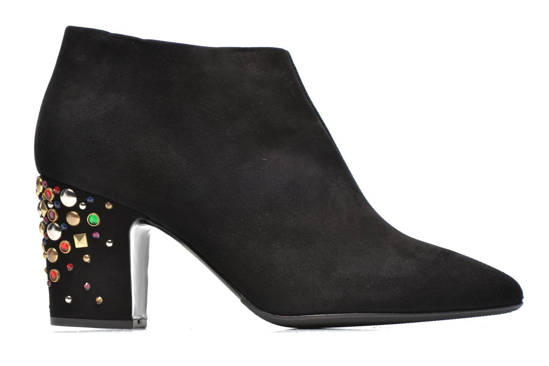 Boots Vicini Bottines talon bijoux Svart bild från baksidan