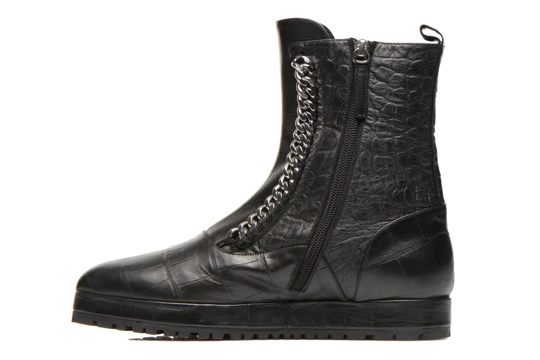 Boots en enkellaarsjes Vicini Bottines double chaîne Zwart voorkant