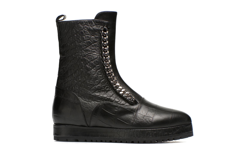Boots en enkellaarsjes Vicini Bottines double chaîne Zwart achterkant