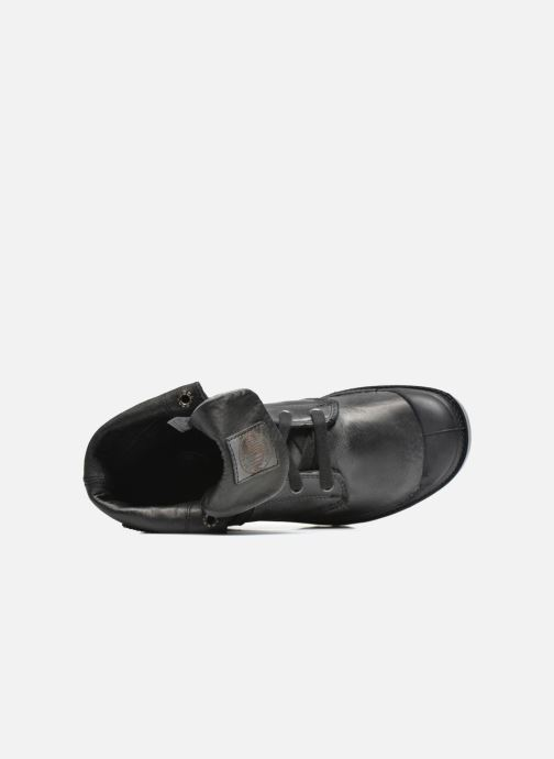 Trainers Palladium Pallabrousse Baggy L2 U W Black view from the left