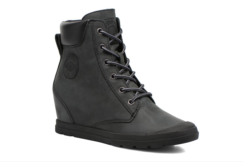 Ankle boots Palladium Esmeraldas CSR Black detailed view/ Pair view