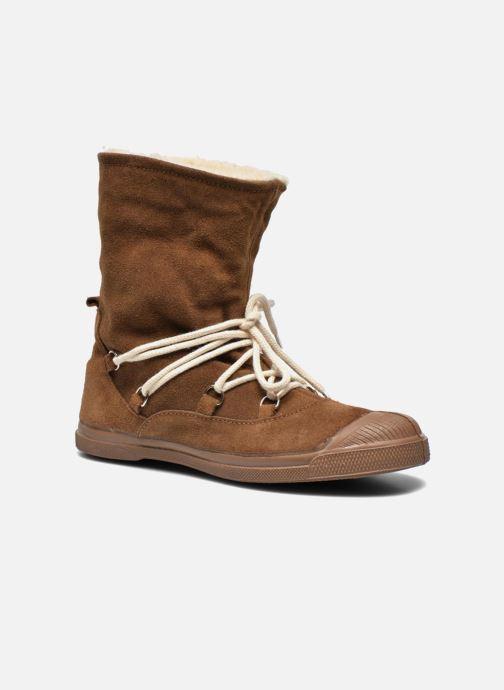 Bottines et boots Bensimon Boot Mountain Marron vue 3/4