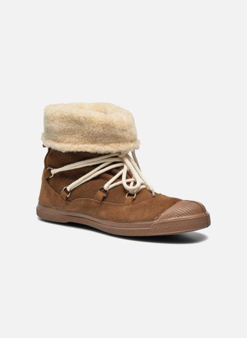 Bottines et boots Bensimon Boot Mountain Marron vue détail/paire