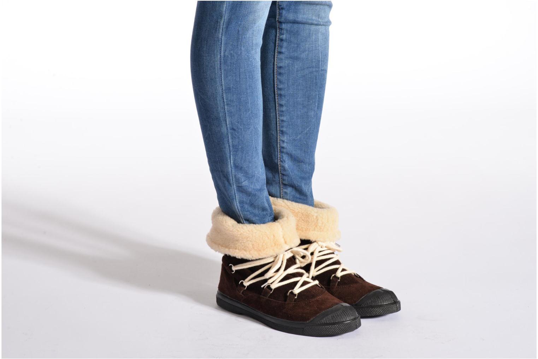 Boots en enkellaarsjes Bensimon Boot Mountain Bruin onder