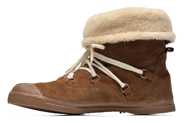 Boots en enkellaarsjes Bensimon Boot Mountain Bruin voorkant