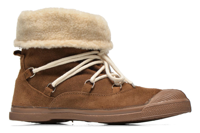Boots en enkellaarsjes Bensimon Boot Mountain Bruin achterkant