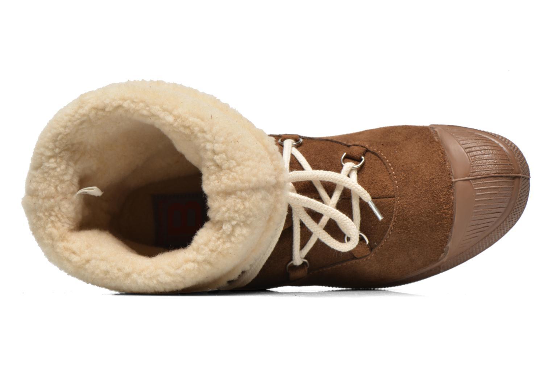 Boots en enkellaarsjes Bensimon Boot Mountain Bruin links