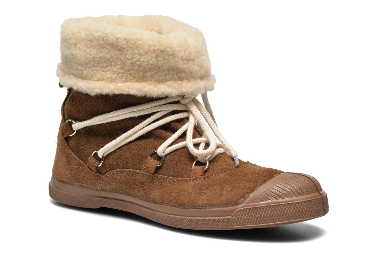 Boots en enkellaarsjes Bensimon Boot Mountain Bruin detail