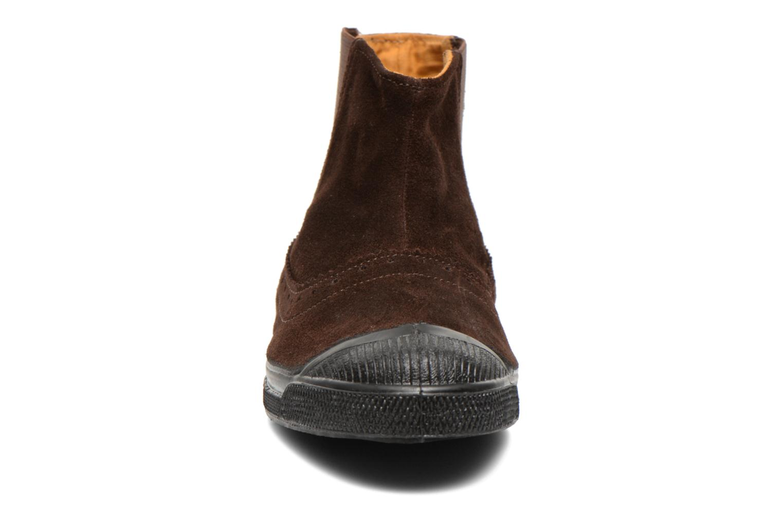 Ankle boots Bensimon Boot Chelsea Brown model view