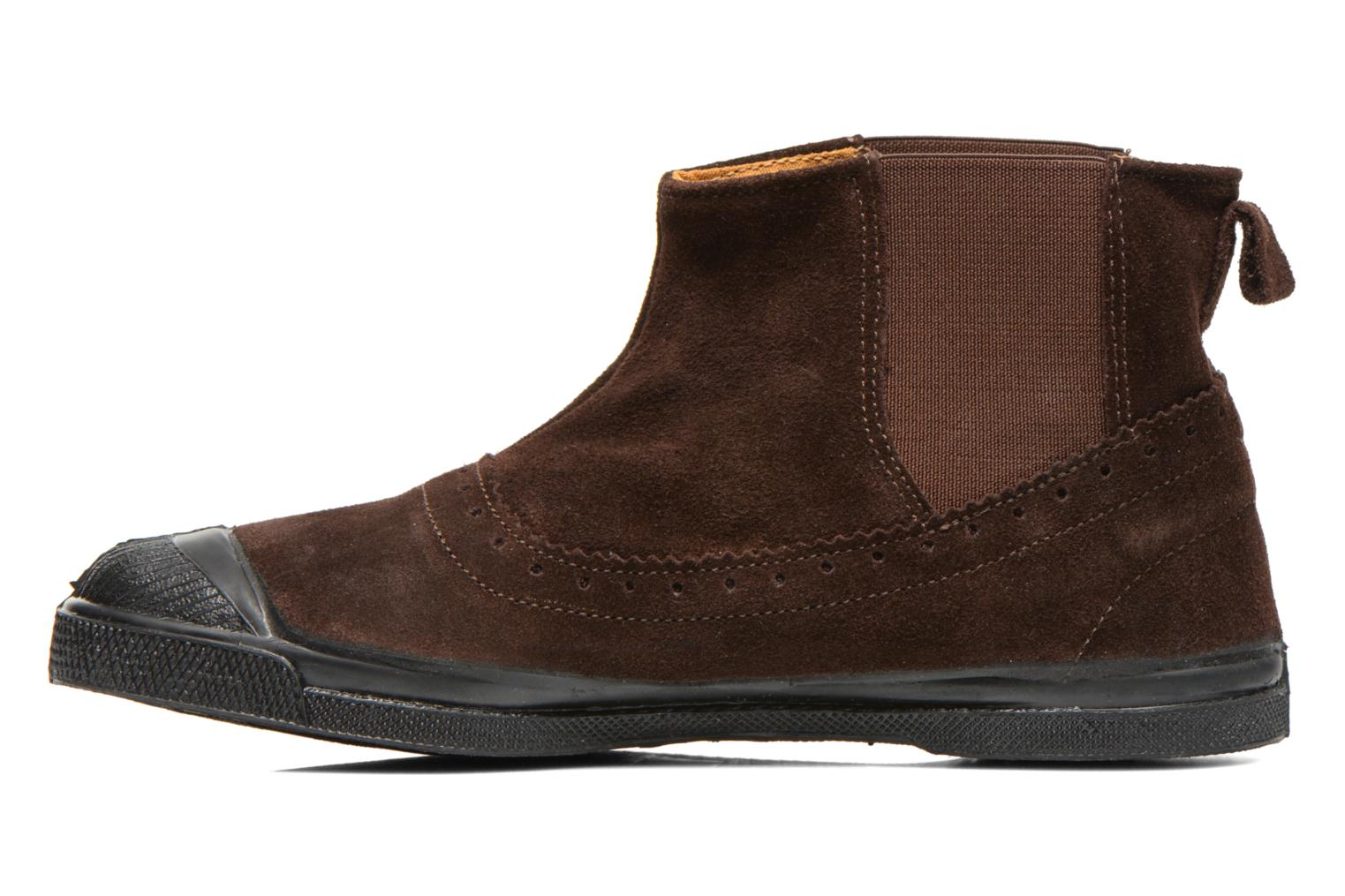 Ankle boots Bensimon Boot Chelsea Brown front view