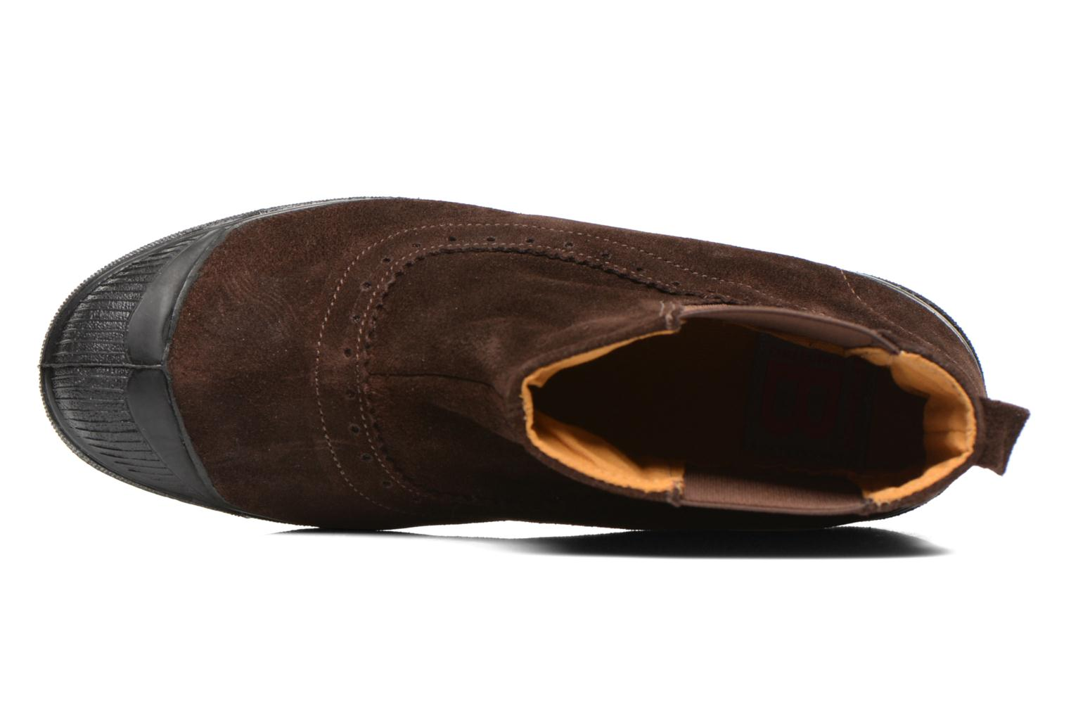 Ankle boots Bensimon Boot Chelsea Brown view from the left