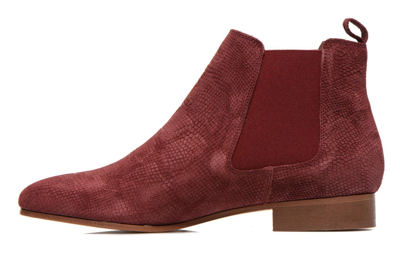 Bottines et boots Bensimon Chelsea Boots Bordeaux vue face