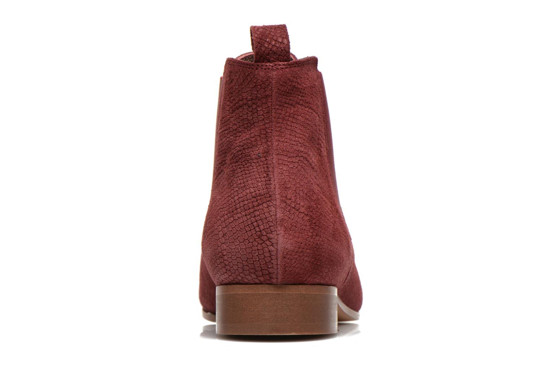 Bottines et boots Bensimon Chelsea Boots Bordeaux vue droite