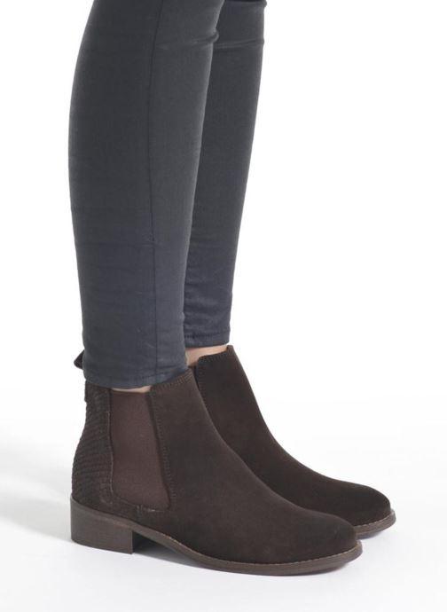 Botines  Bensimon Boots Elastiques Marrón vista de abajo