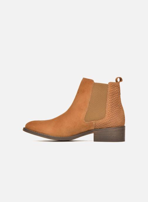 Boots en enkellaarsjes Bensimon Boots Elastiques Bruin voorkant