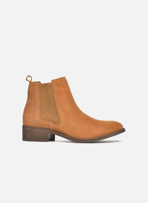 Boots en enkellaarsjes Bensimon Boots Elastiques Bruin achterkant