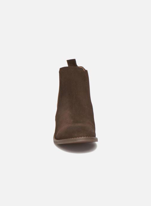 Bottines et boots Bensimon Boots Elastiques Marron vue portées chaussures