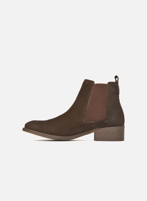Bottines et boots Bensimon Boots Elastiques Marron vue face