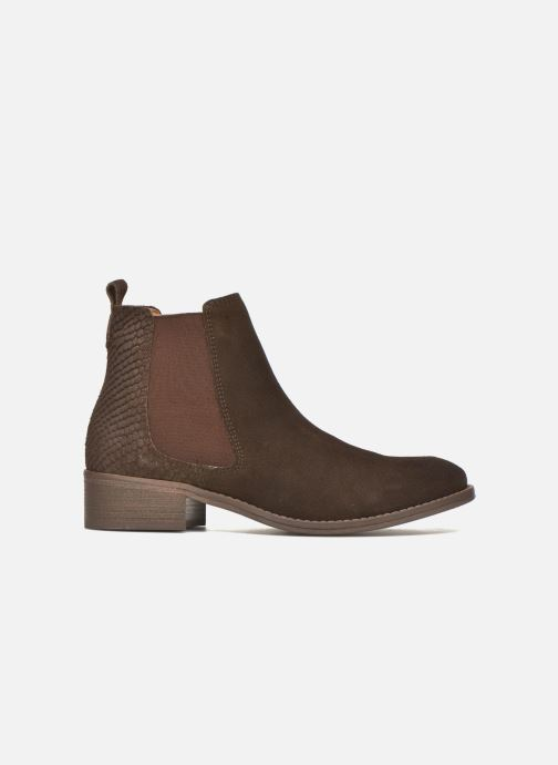Bottines et boots Bensimon Boots Elastiques Marron vue derrière