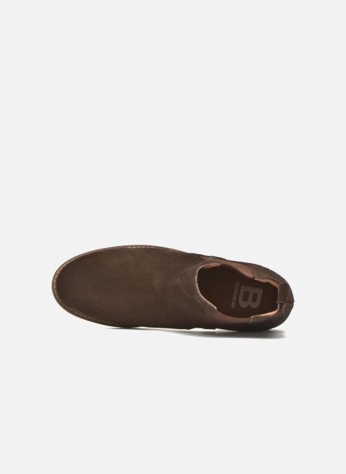 Bottines et boots Bensimon Boots Elastiques Marron vue gauche
