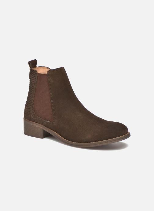 Bottines et boots Bensimon Boots Elastiques Marron vue détail/paire