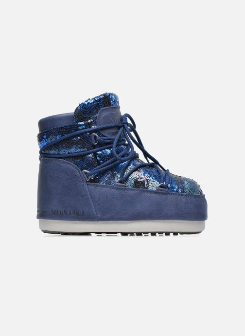 Botines  Moon Boot Buzz Paillettes Azul vistra trasera